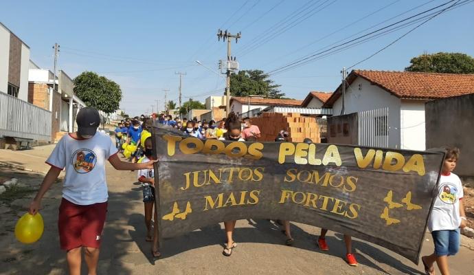 Setembro Amarelo: CRAS e Secretaria de Assistência Social na campanha Borboleta Amarela 2021